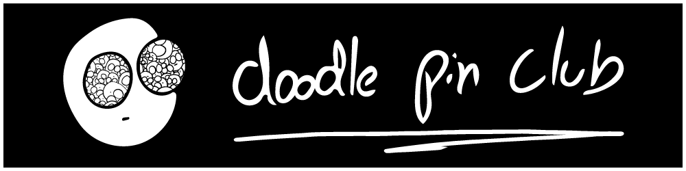 doodle pin club logo